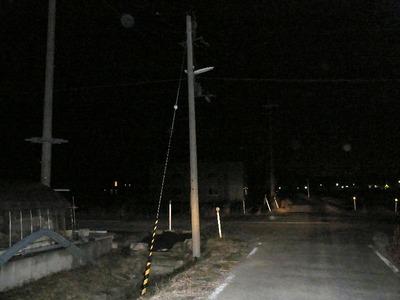 街路灯作業場南