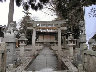 雨の春日神社