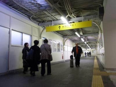 米原駅自由通路2