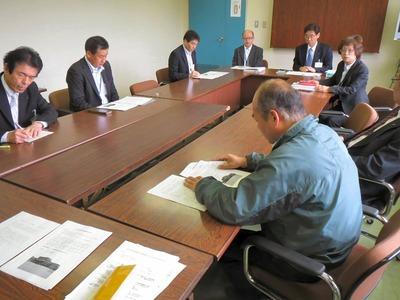 健康福祉常任委員会正副委員長への説明