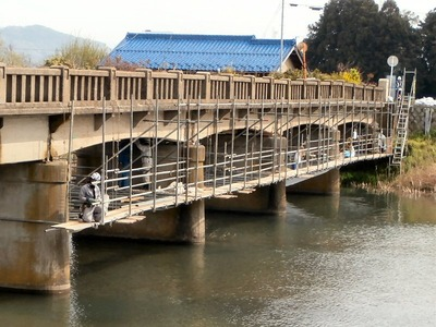 朝妻橋の長寿命化