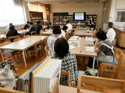 双葉中学校図書室