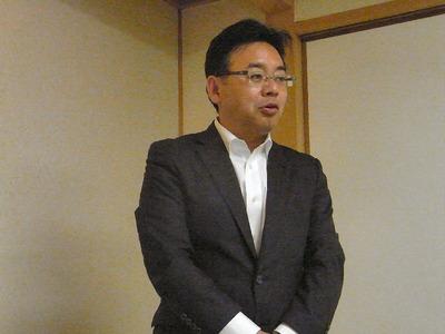 上野賢一郎代議士