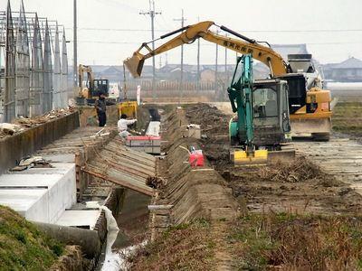 排水路の改修2