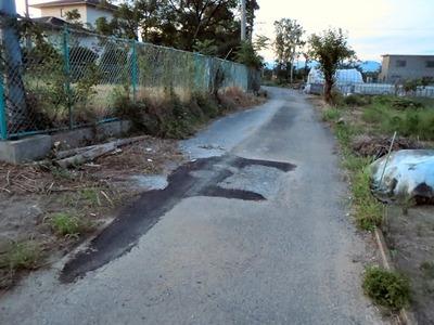 市道の補修