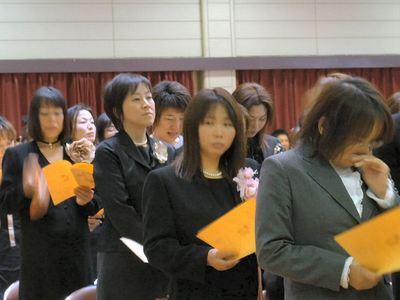 ふたば幼稚園卒園式3