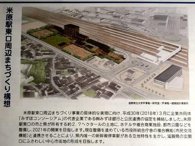 米原駅東口周辺まちづくり構想