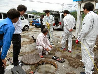 下水道のトラブル