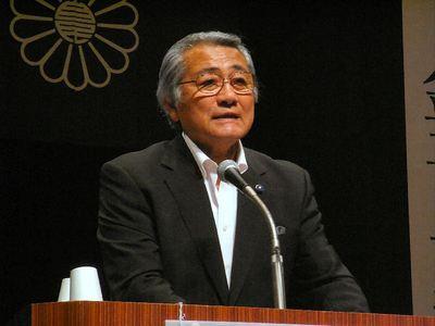 辻村県議会議長
