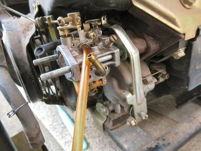 発電機の修理