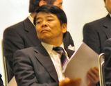 来賓席の平尾市長