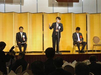 上野賢一郎県連会長