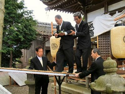 玉串の奉奠