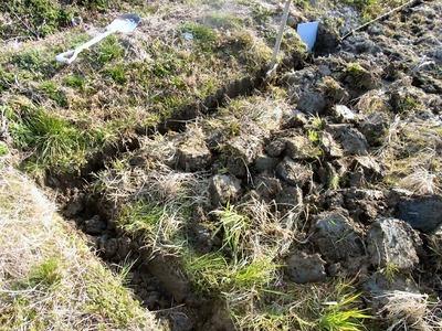 田んぼの排水対策
