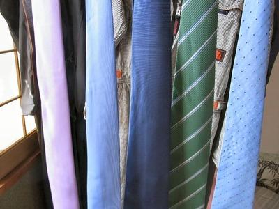 ネクタイの洗濯