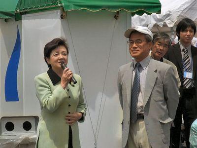 泉市長と嘉田知事