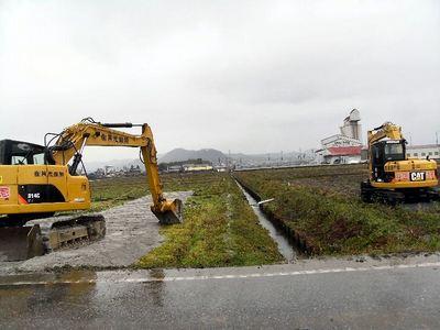 水路の改修