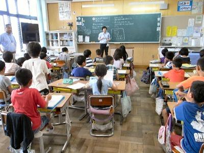 授業参観3年生