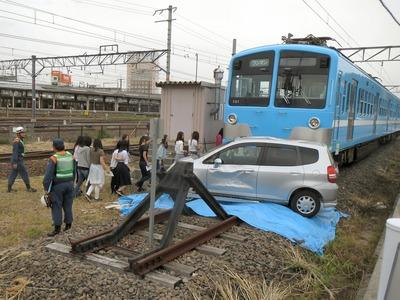 鉄道事故訓練
