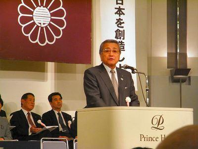 辻村克滋賀県議会議長