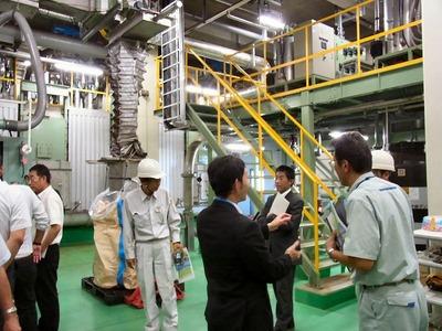 汚泥の発酵設備