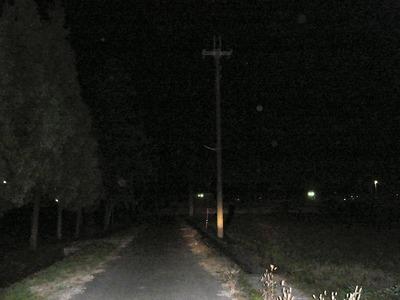 街路灯神明神社前1