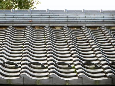 道の駅のトイレの屋根
