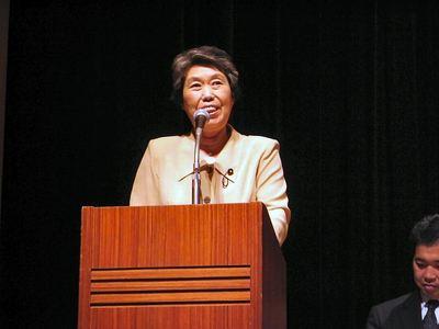 司会の西村久子県議