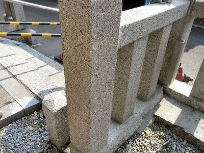 建立年が記載された柱