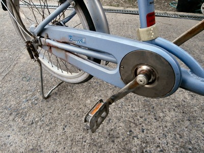 母の自転車