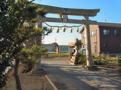 蛭子神社看板合成