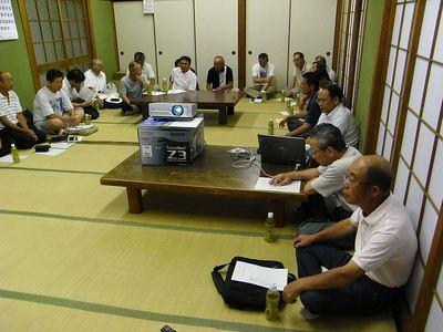 農地・水・環境保全向上対策活動組織 3集落情報交換会