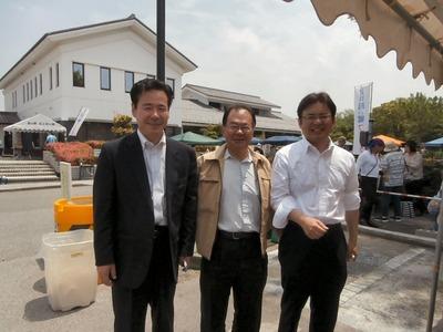 小鑓隆史さんと上野代議士