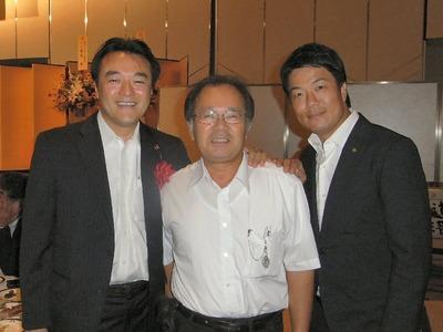 大岡代議士、岩永市長