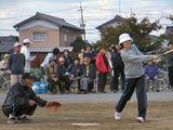 ソフトボール打者