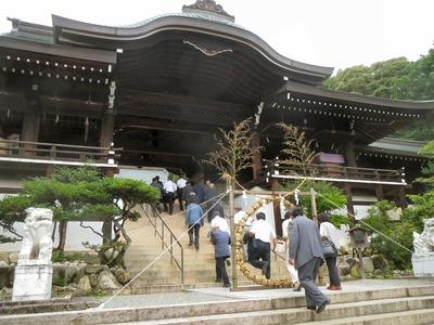 近江神宮茅の輪