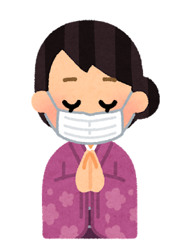 omairi_mask_kimono_woman