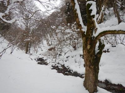 二ノ谷の風景