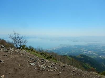 権現山から琵琶湖