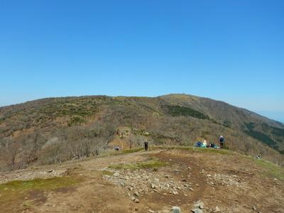 ホッケ山から蓬莱山