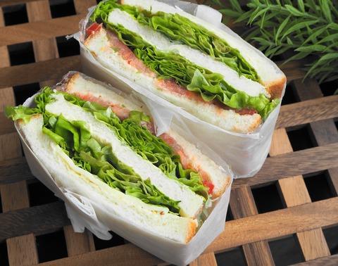 野菜サンド画像