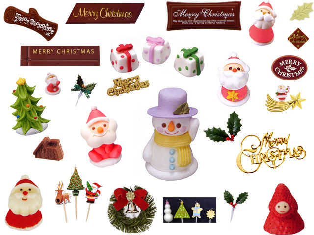【製菓】クリスマスケーキデコレーション · 20131112 christmas