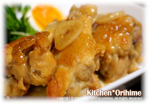 鶏手羽元のサッパリ煮-アップ