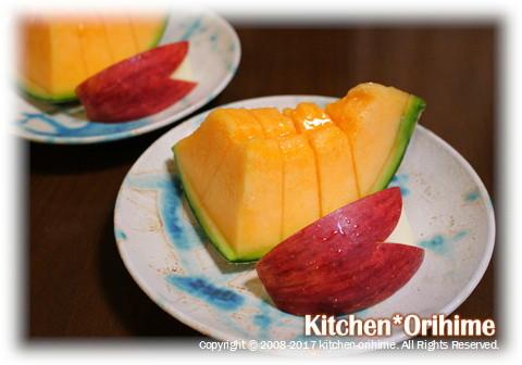 うさぎリンゴ&赤肉メロン