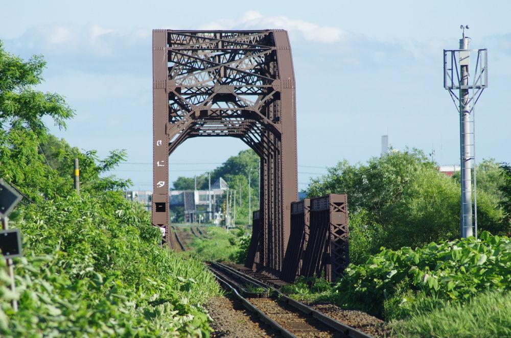 鉄橋のある鉄道風景のblog
