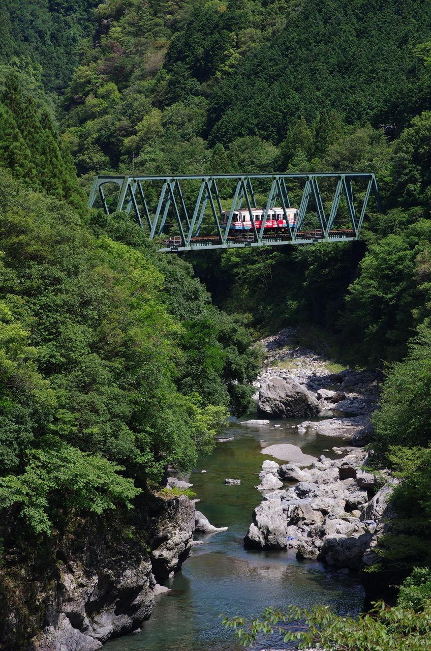 鉄橋のある鉄道風景のblog : 樽...