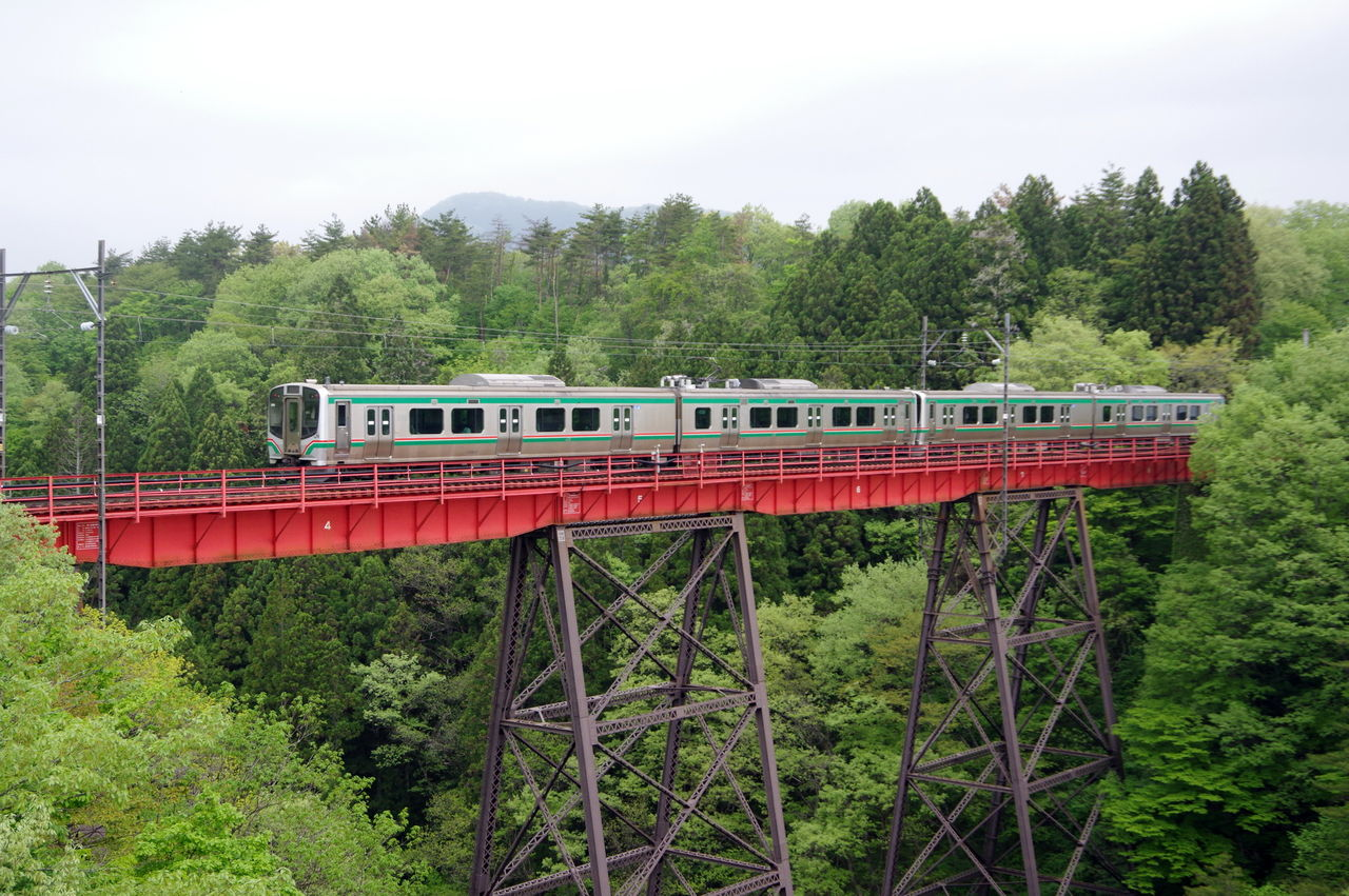 仙山線 第2広瀬川鉄橋(1) : 鉄橋のある鉄道風景のblog