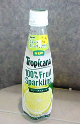 トロピカーナ 100%フルーツスパークリング