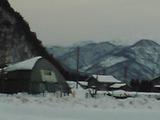 お正月の白山