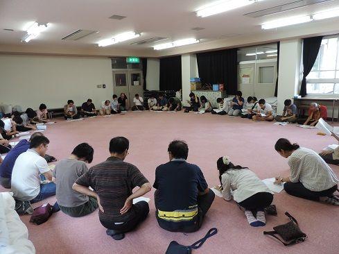 サマキャン2015スタッフ打ち合わせ ブログ